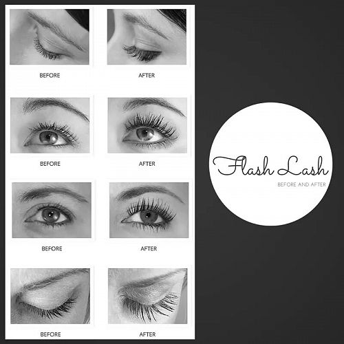 Want longer, fuller lashes? See us now for Flash E