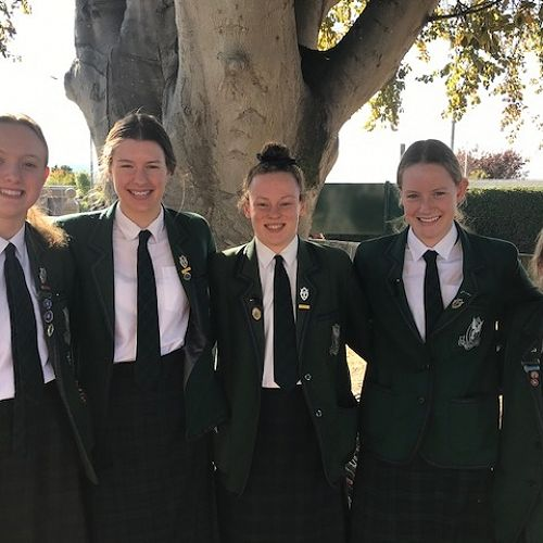 Swimmers who competed in the New Zealand National Division II Competition: Zoe McCane, Molly Woodham, Ana Tarapi, Emma Morton, Poppy Henderson