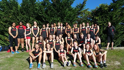GHS Aoraki Athletics Team
