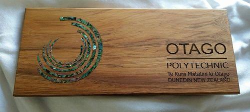 Otago Polytechnic Paua Gift