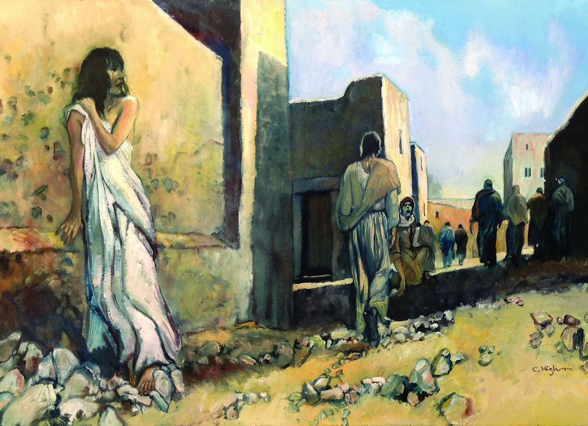 Jesus, the Woman and the Pharisees - John 8:1-11