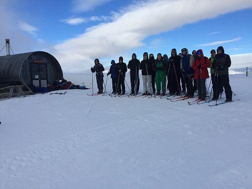 Year 13 PE - Snow Caving