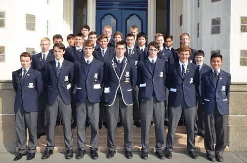 Year 12 students
