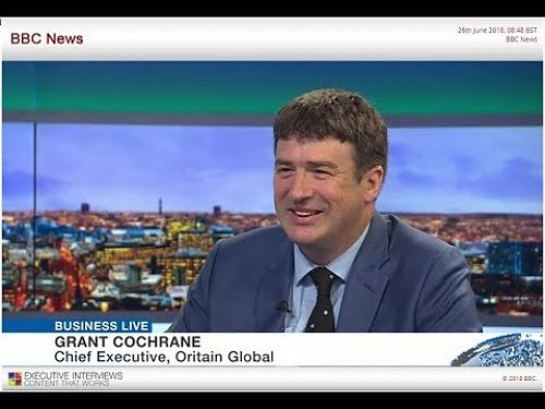 Oritain and BBC Business Live: CEO Grant Cochrane