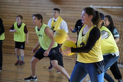 Interhouse Dodgeball Competition