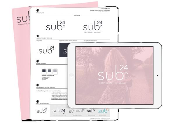 Sub 24 brand development