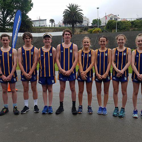 Roncalli College Team ~ Caroline Bay Relay