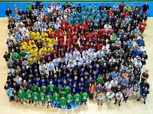 2013 IIHF Hockey Development Camp Opening Ceremony