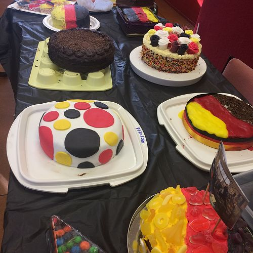 More cake - German themed - and 'lecker'!