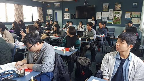 Toho High students