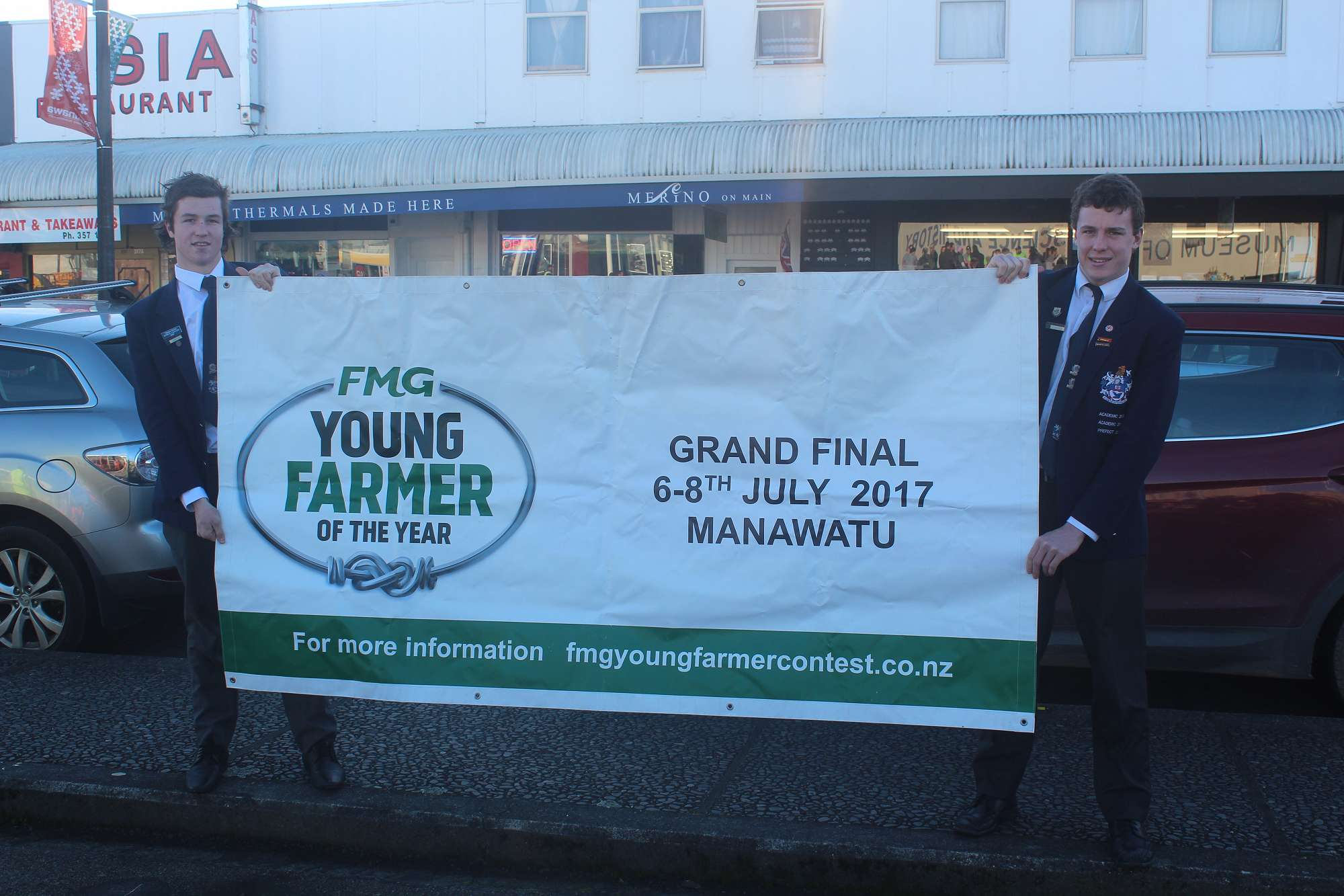 2017 New Zealand Teen Ag Competition