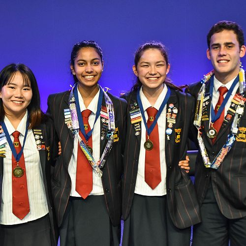 Charmaine Lam – Girls' General Excellence;Apoorva Patelkhana – Academic Excellence and Proxime Accessit;Francesca Zhang - Top Academic Student and Dux;Joshua Paul – Boys' General Excellence