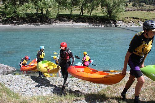 Kayak portage to reload trailer