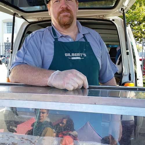 Kevin Gilbert is making Horopito bread for the Wild Dunedin festival on Saturday 22nd April