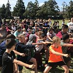 Year 7 Retreat - Haka