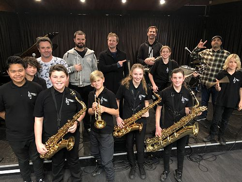 Jazzquest Combo workshop 2019 at ARA Music Arts