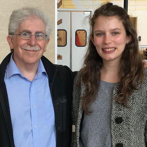 Dr Richard Stein and Ally Bain