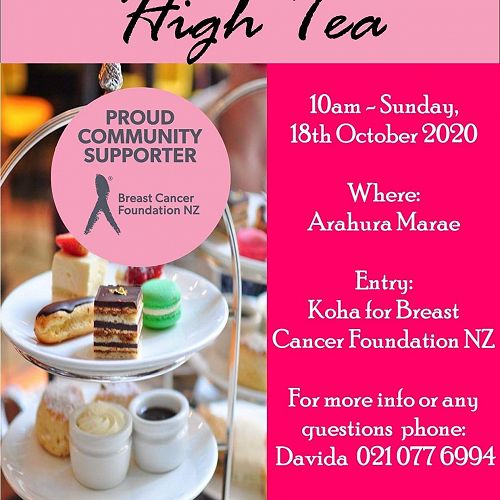 Breast Cancer Foundation High Tea