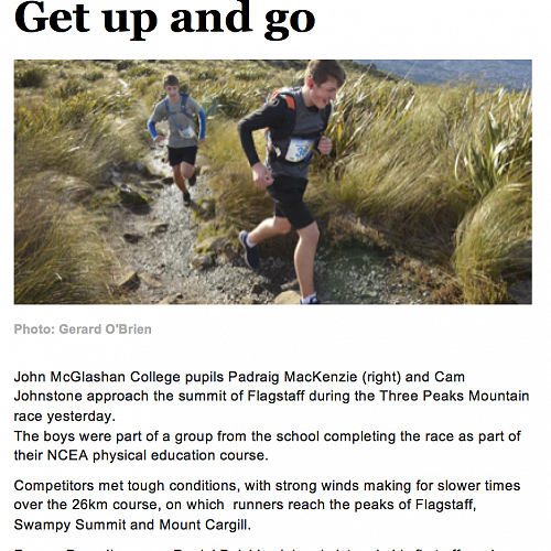 ODT article - The three peaks