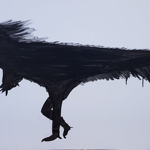 Painting by Lochlan Hanham