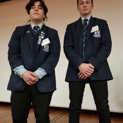 From Left; Taumana and Benjamin