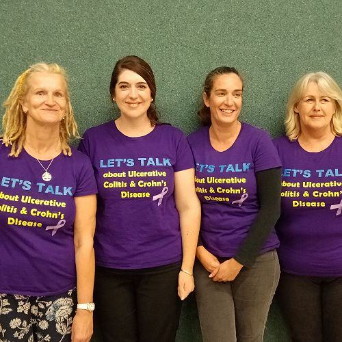 Members of the Crohn's & Colitis Canterbury Support Group Committee