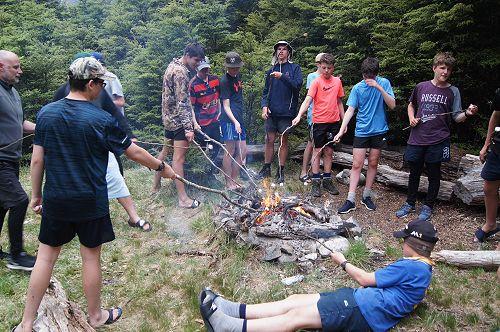 10NPA enjoy toasting marshmallows at the South Tem