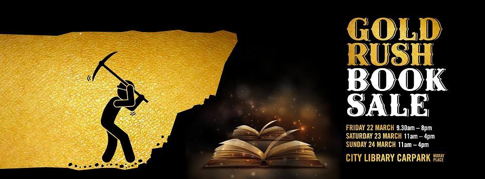 Big Gold Rush Book Sale - NB: March-April 2019