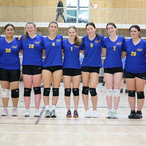 Otago U17 Volleyball team