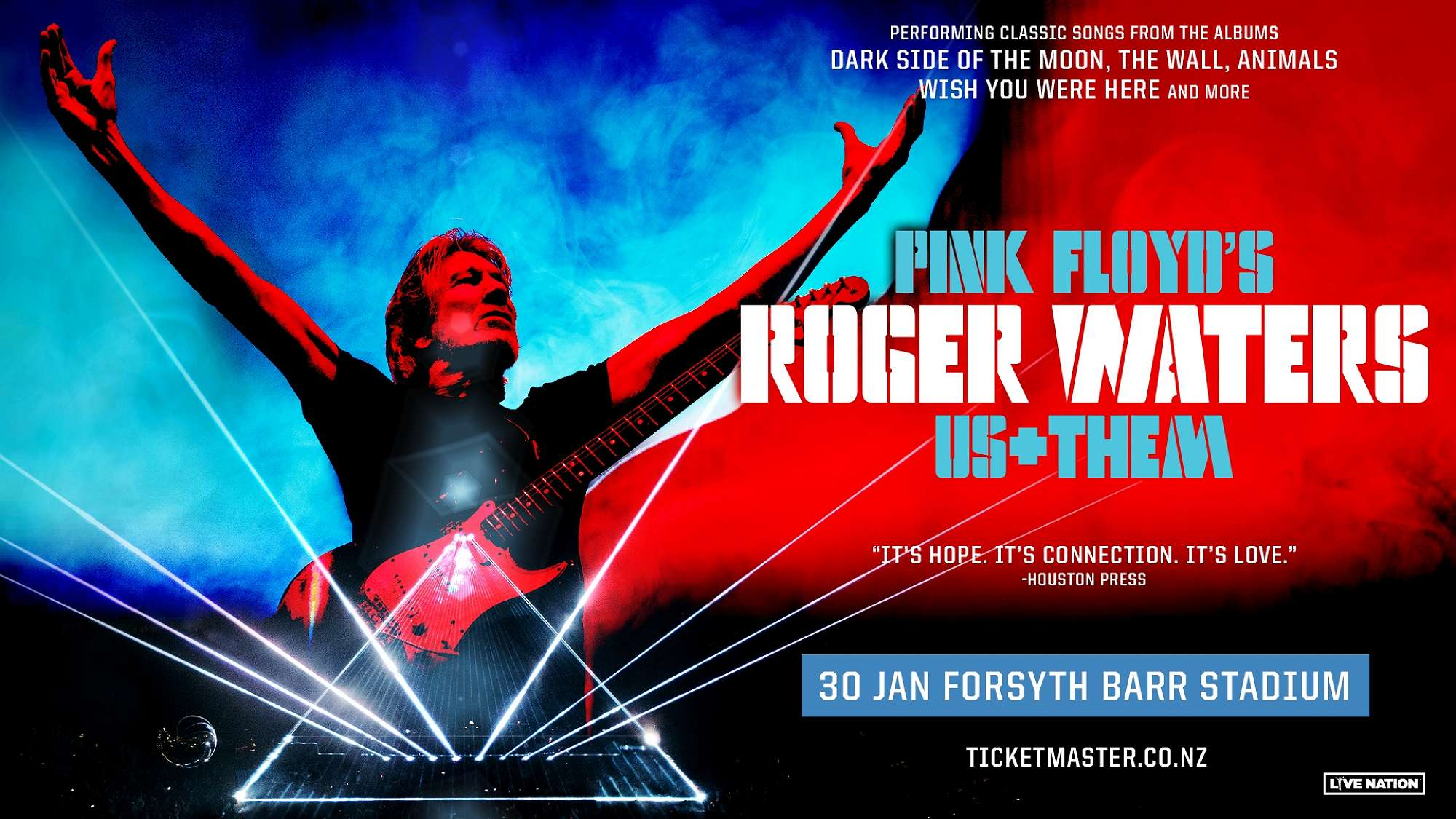 Roger Waters to play at Forsyth Barr Stadium!
