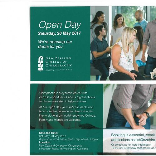 NZ College of Chiropractic | Open Day