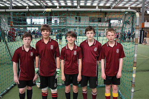 Futsal Term 4 Junior Boys 2 team - 3rd Place