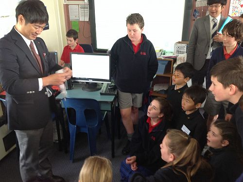 The Deputy Principal showed us some amazing magic