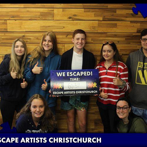 ESCAPE ARTISTS - GOT DAY 2020