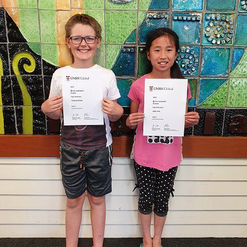 "Our ICAS ""High Distinction"" Award winners - fantastic effort!"