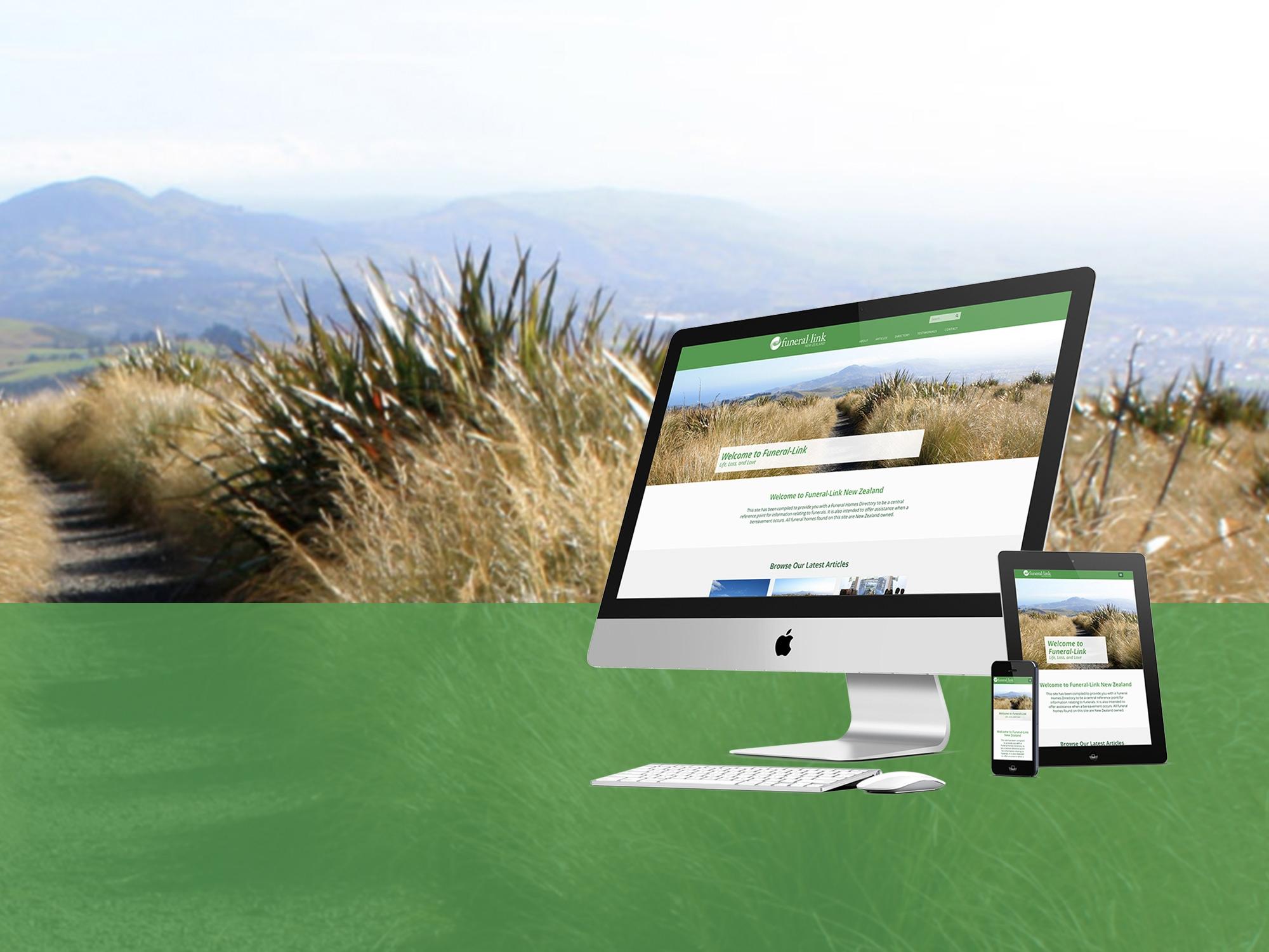 Funeral Link Responsive Website