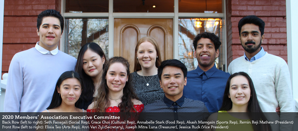 2020 Members' Association Executive Committee