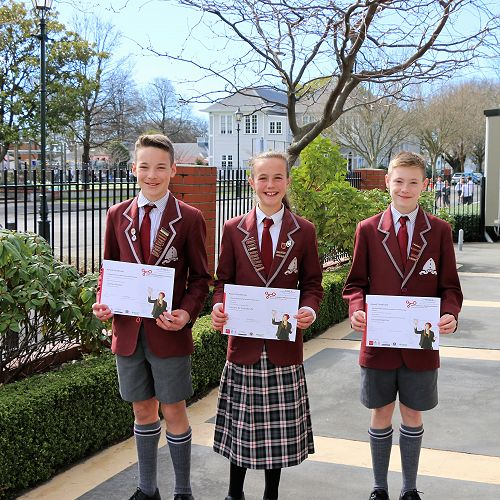 Success at the Canterbury Science and Technology Fair