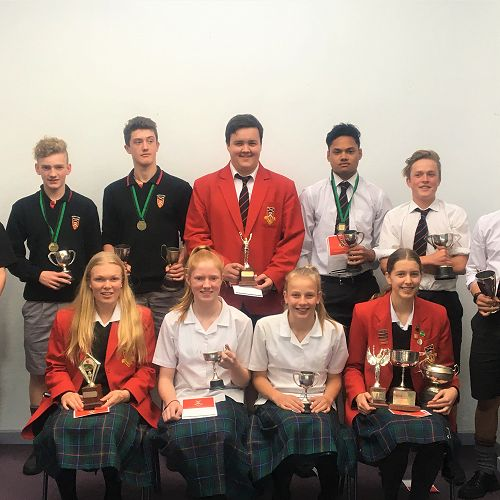 Athletics Trophy Winners