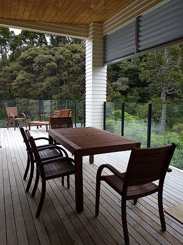 Outdoor staffroom furniture!