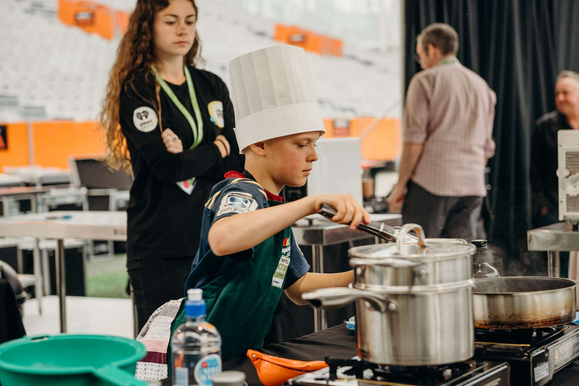 Our young chefs cooked up a storm in just 30 minut