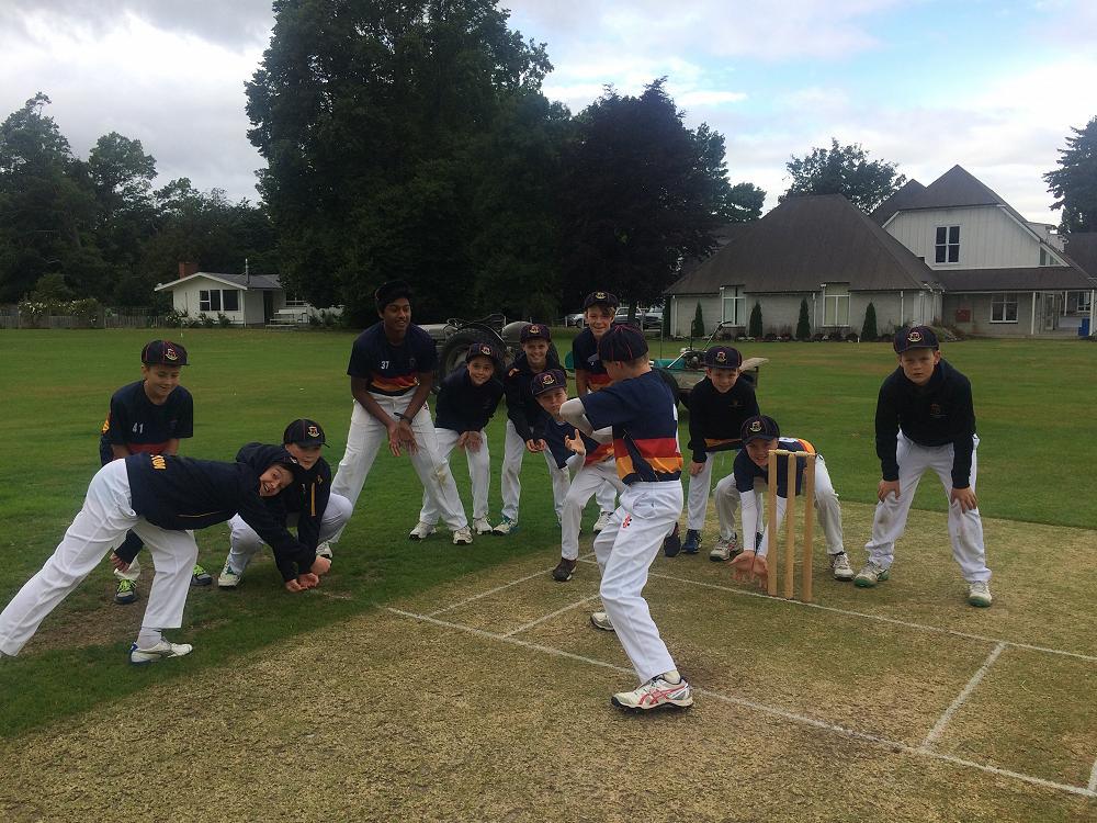 John McGlashan College Year 7 & 8 cricket side