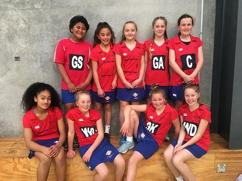 Year 7A Netball team - Otago tournament