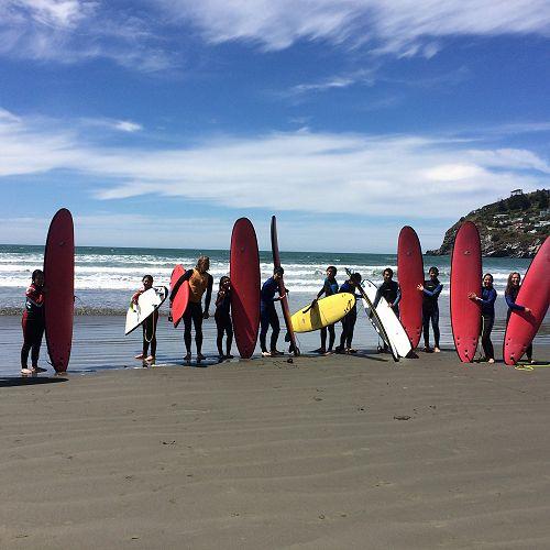 Surfing at Sumner