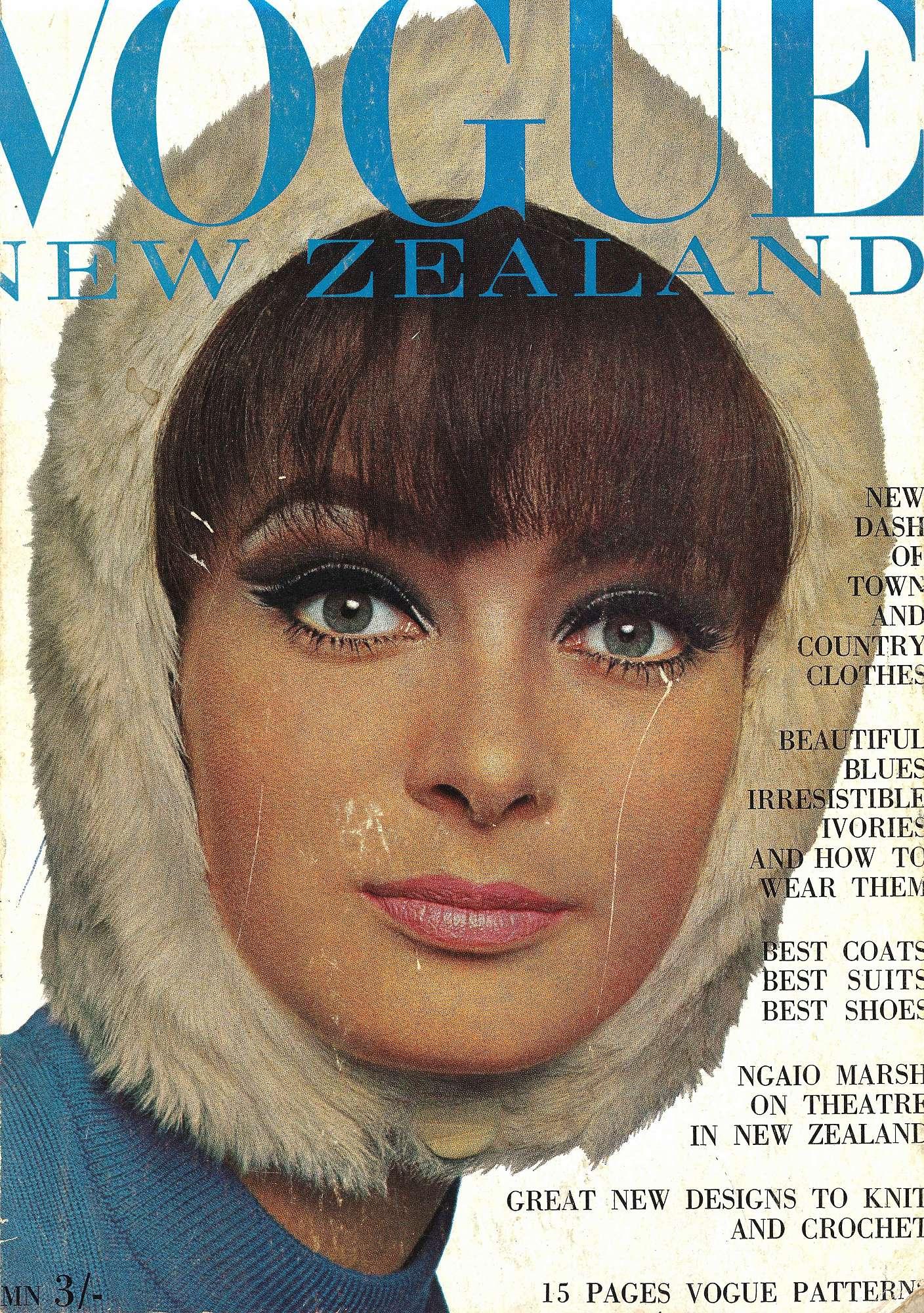 260b8d2a3e Vintage copy Vogue New Zealand. Christian Dior book cover