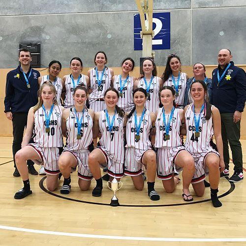 CGHS Senior A Basketball Team South Island Champions!!