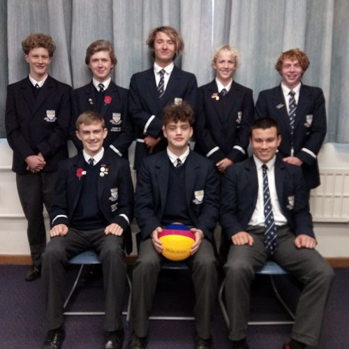 OBHS Senior Water Polo Team