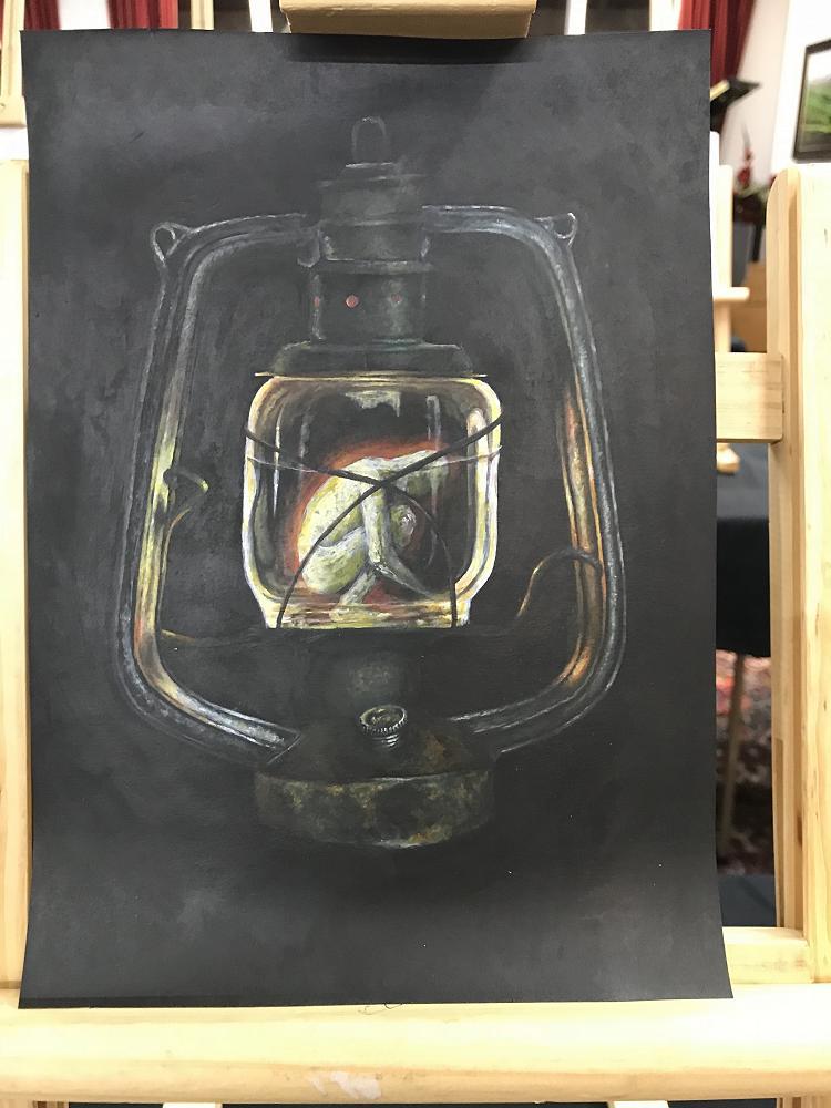 """""""Lantern in the dark"""" by Jessica Kirton-Luxford"""