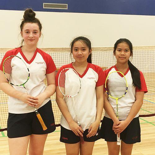 CGHS Badminton Championships