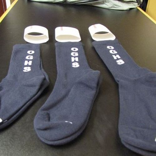 Sports socks available for sale